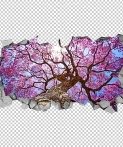 Sakura-cherry-tree-ceiling-decal-detail