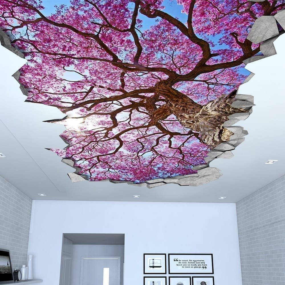 Decalcomanie Soffitto Sakura Ciliegio