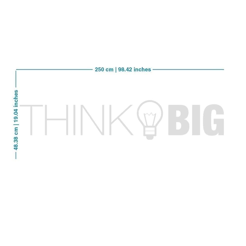 Think Big Office Decor 3D - Dimensions