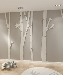 Birch Tree 3D Wall Art