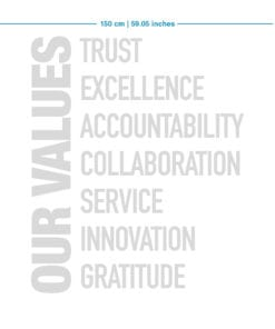 Our Values Escritorios de Oficina 3D