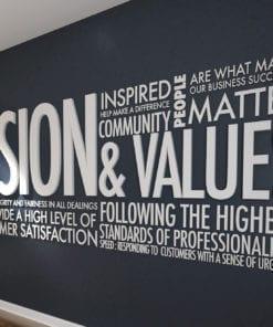 Vision & Values Office Interior Design 3D