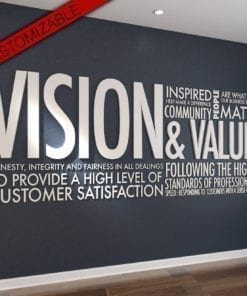 Vision & Values Office Interior Design 3D