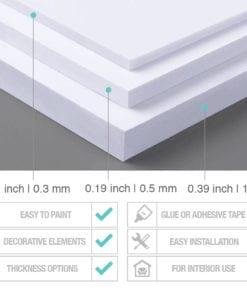 Vision & Values Office Interior Design 3D - PVC