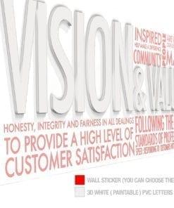 Vision & Values Office Interior Design 3D - Scheme