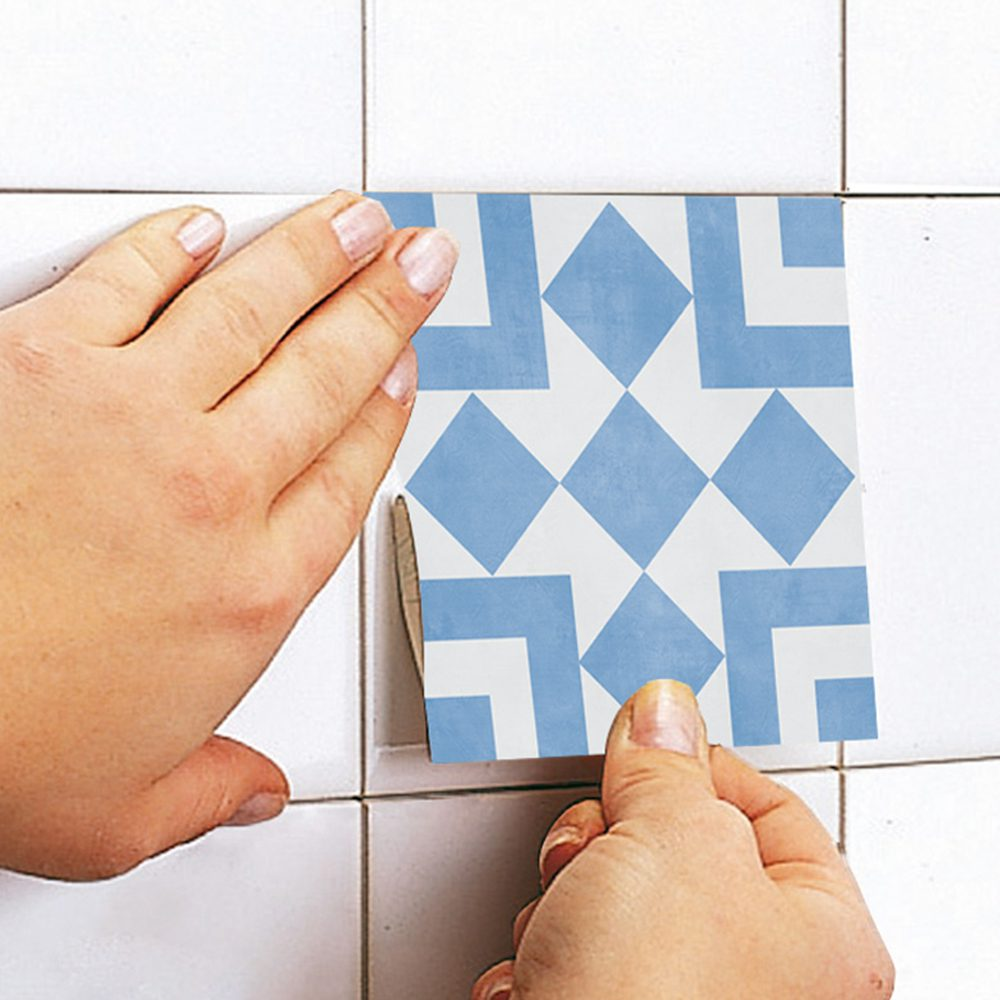 Cádiz Floor Tiles (Pack of 10) - Moonwallstickers.com