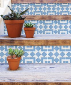 Cádiz Floor Tiles - Stairs