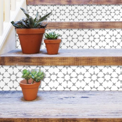 Fez Tile Stickers - Stairs
