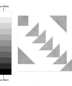 Granada Tile Decals - Color Spectrum