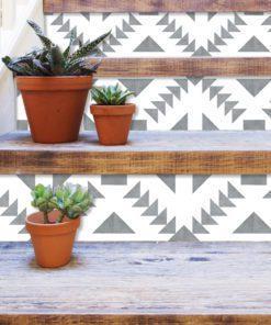 Granada Tile Decals - Stairs 1
