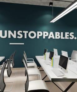 Unstoppables 3D Office Wall Decor