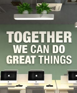 Together 3D Office Wall Decor