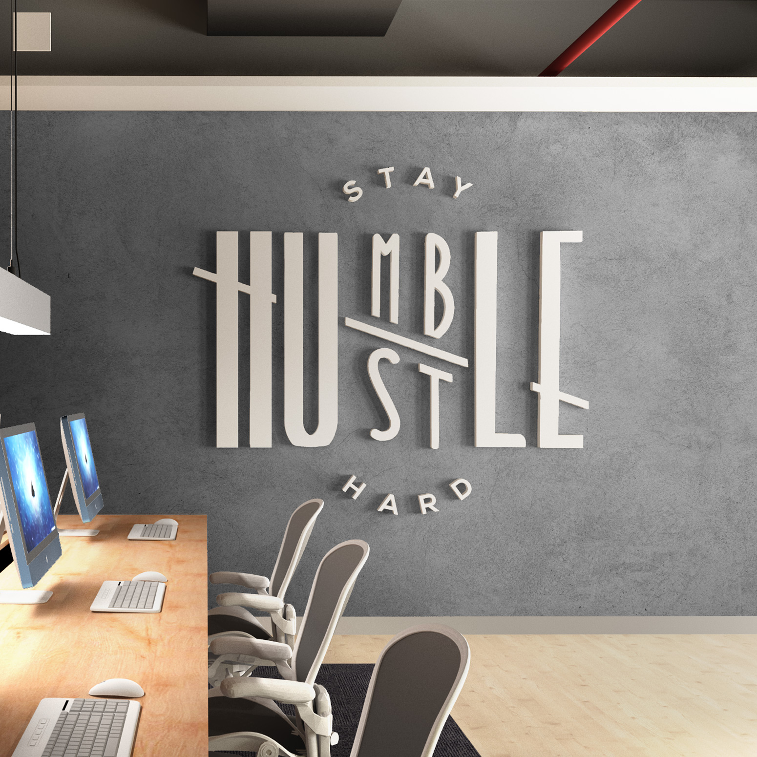 Humble Office Wall Decor