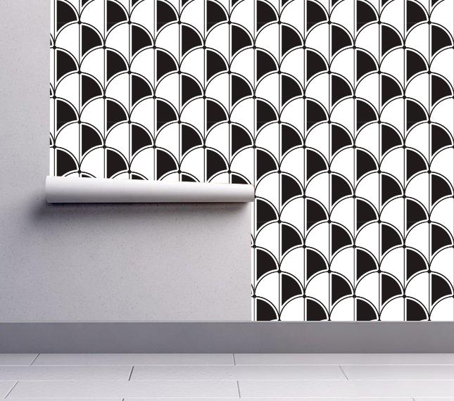 Art Deco Gatsby Pattern Wallpaper