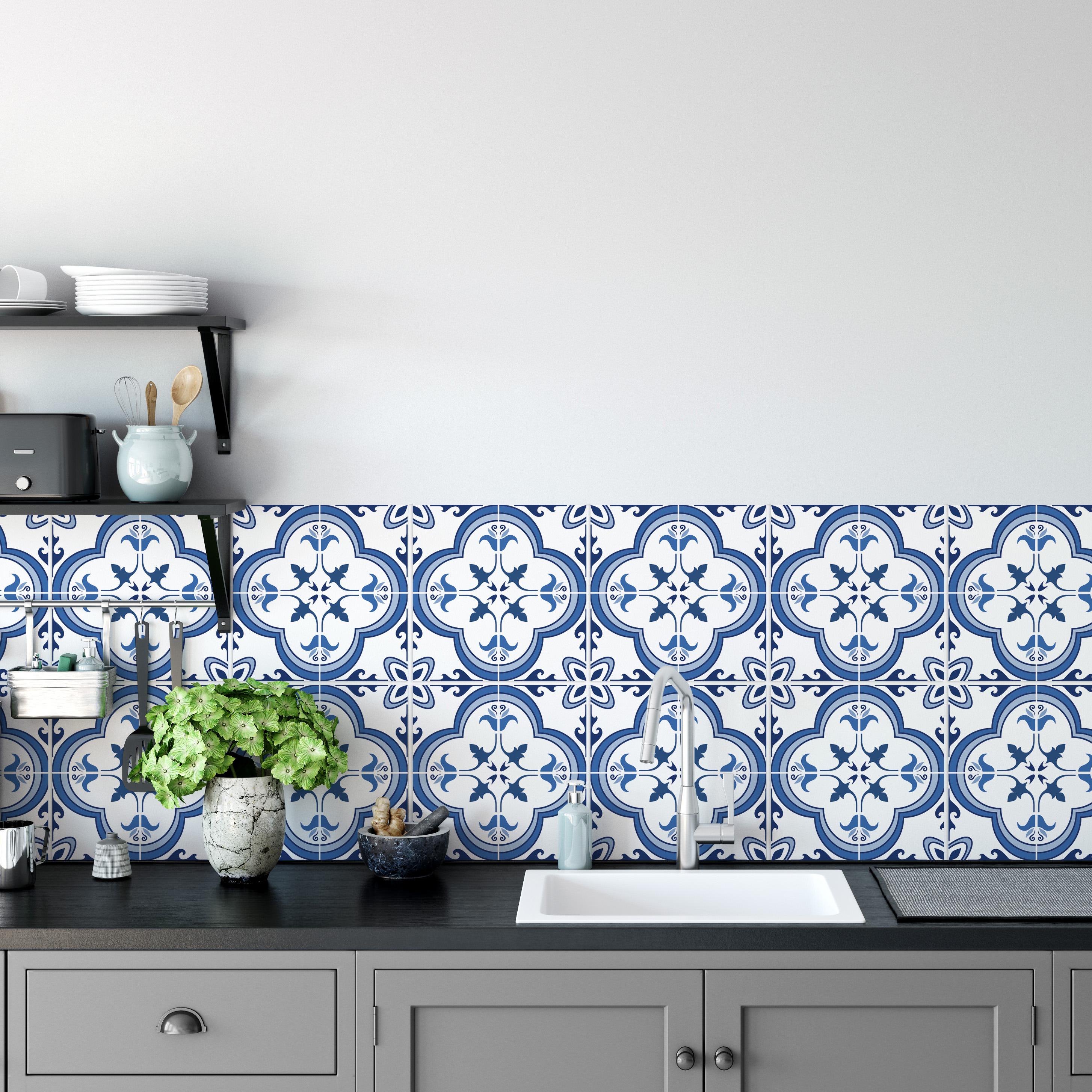Küche Backsplash Dekor - Portugiesische Fliesen