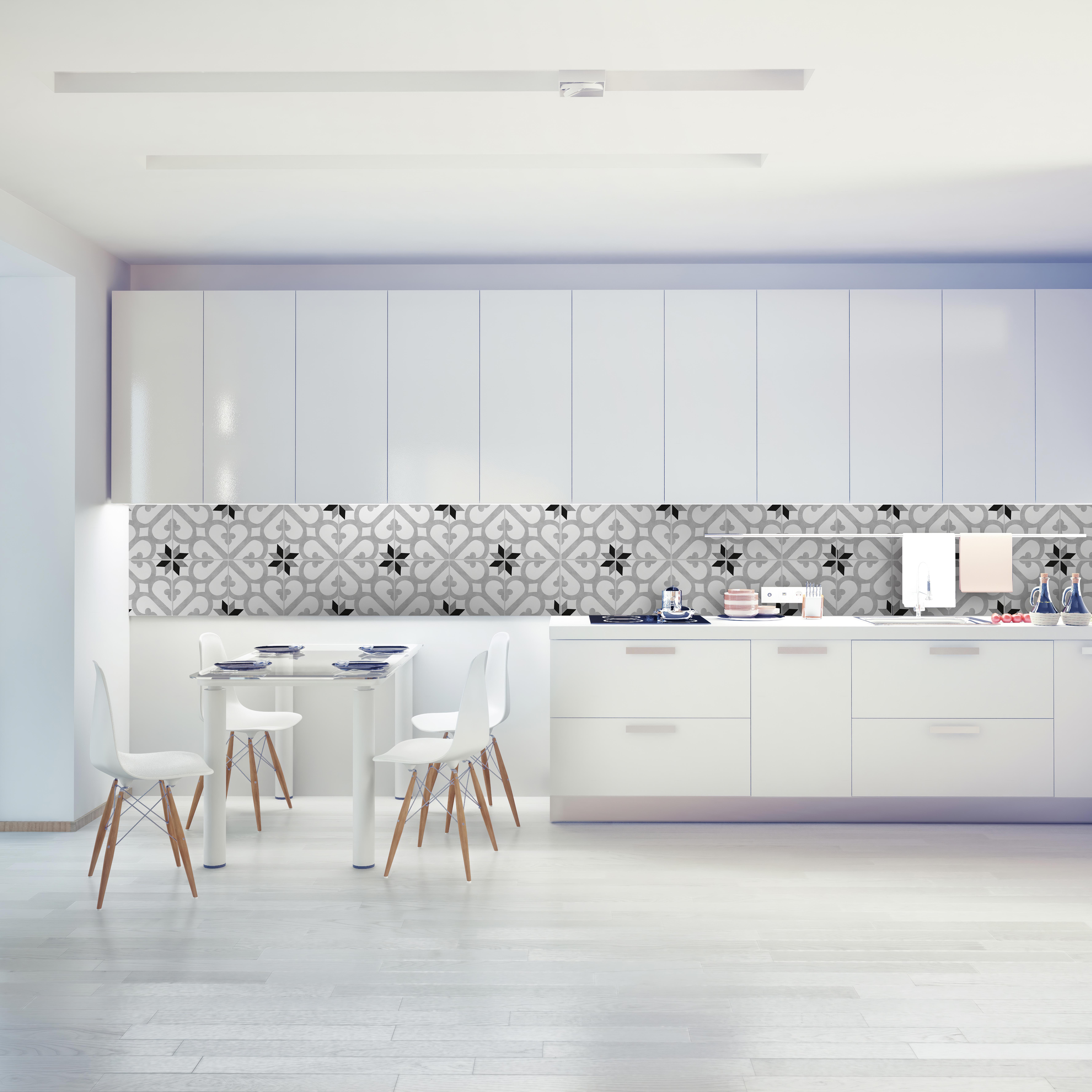- Kitchen Backsplash Decor - Diana Tile Stickers - Moonwallstickers.com