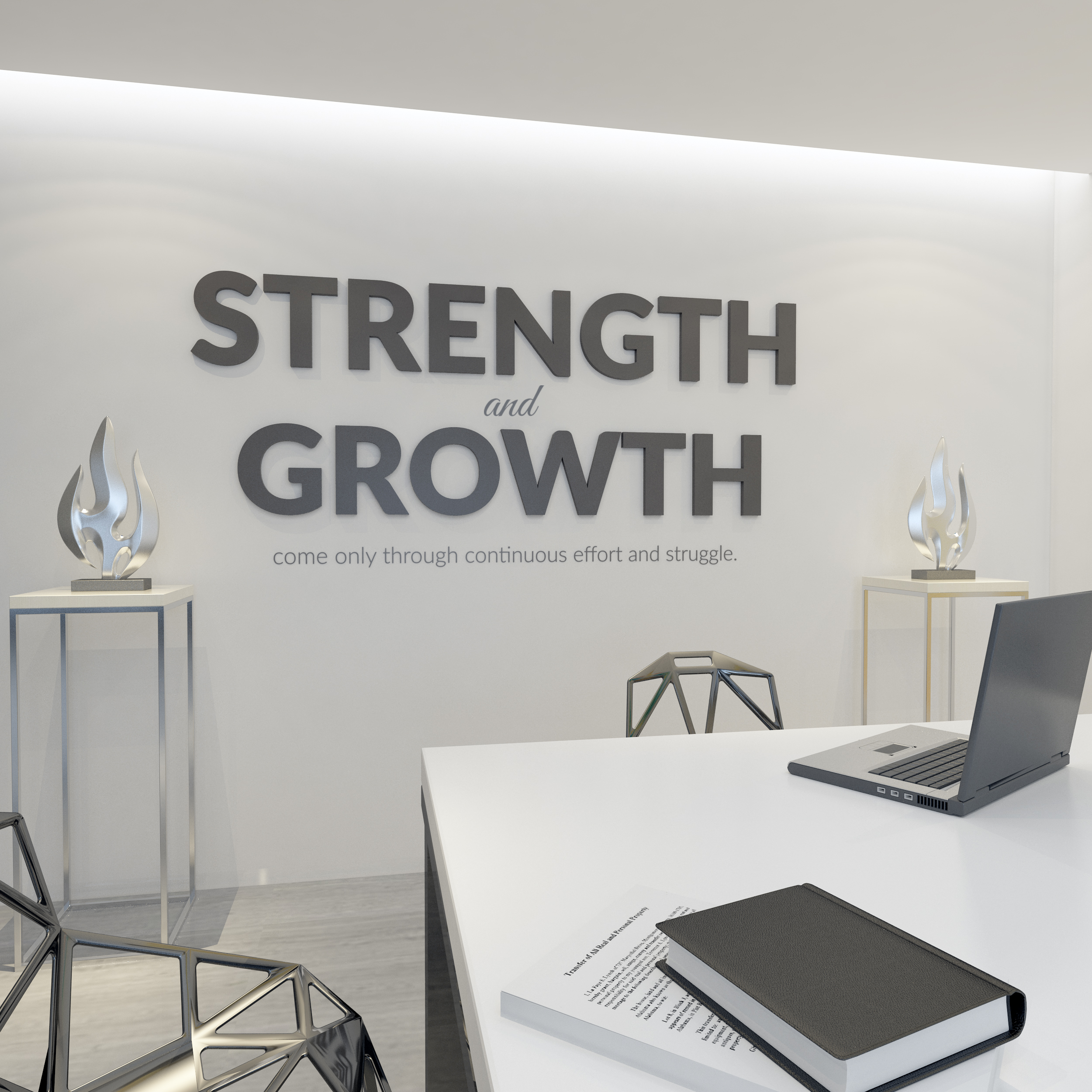 Growth Office Wall Decor